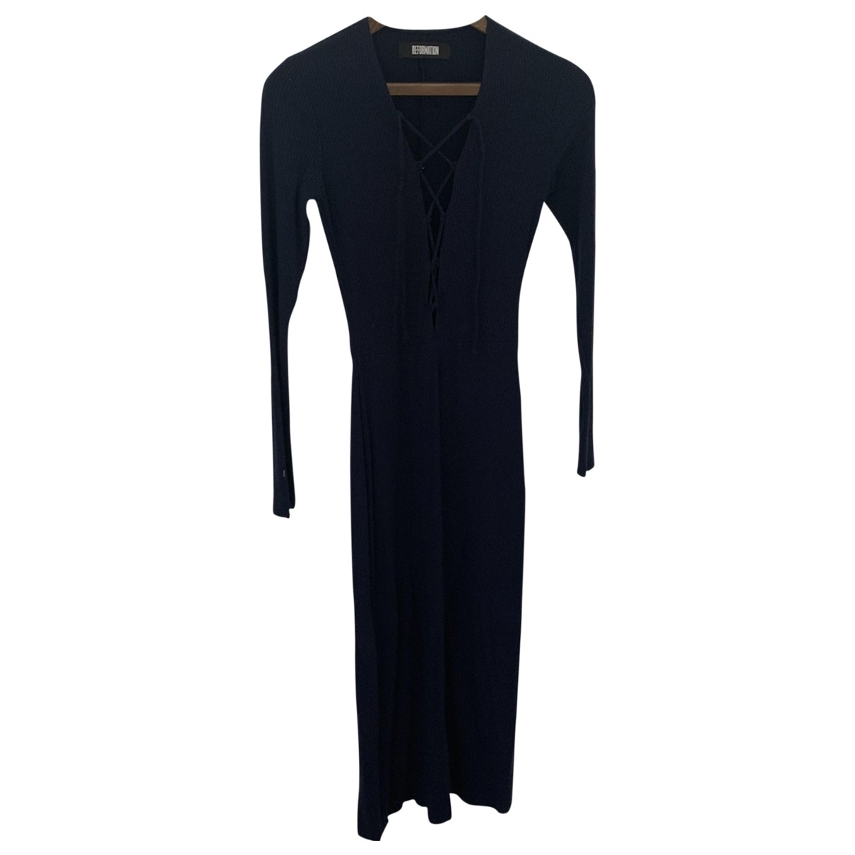 Reformation \N Navy dress for Women S International