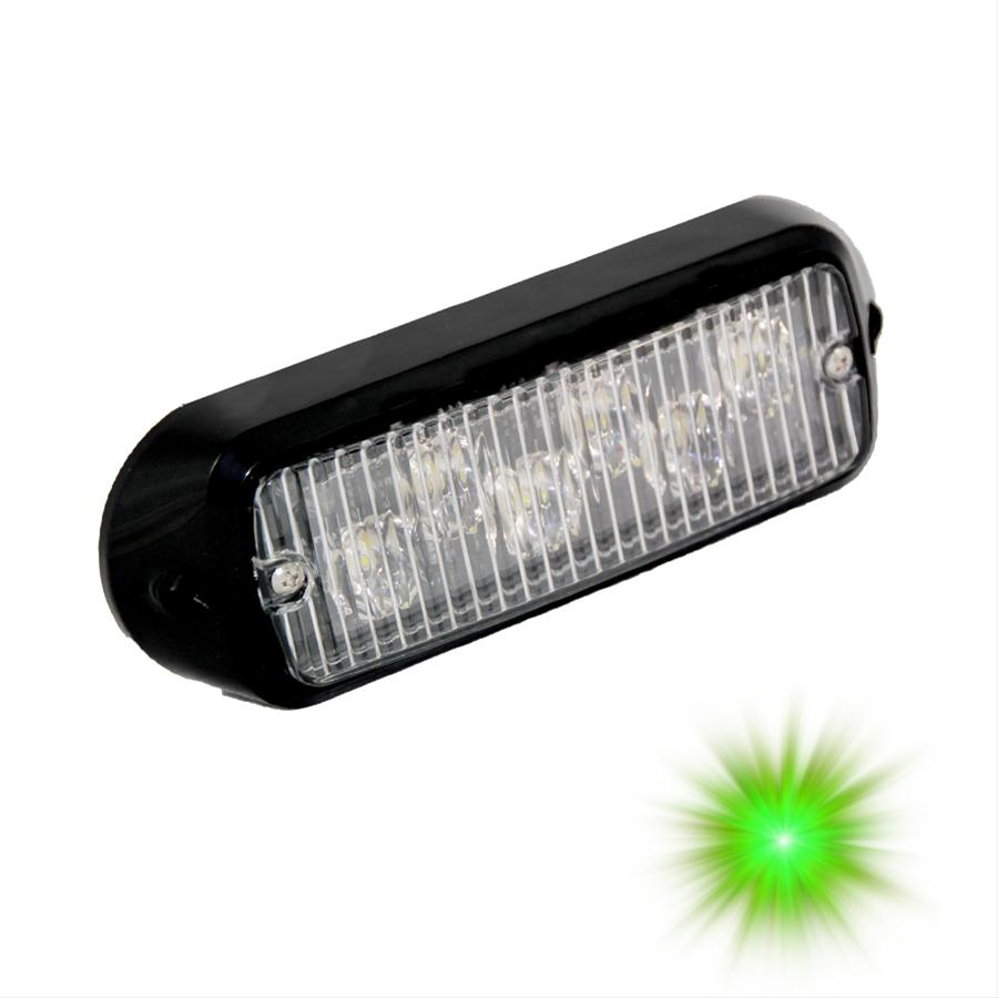 Oracle Lighting 3404-004 ORACLE 6 LED Undercover Strobe Light - Green