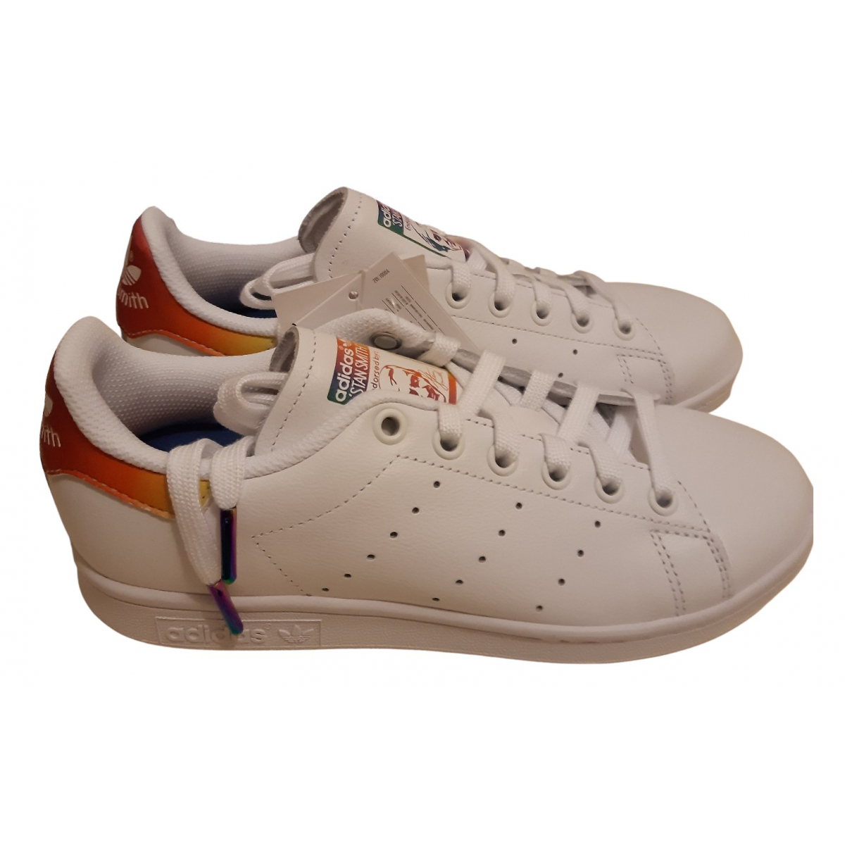 Adidas Stan Smith White Leather Trainers for Women 37 EU