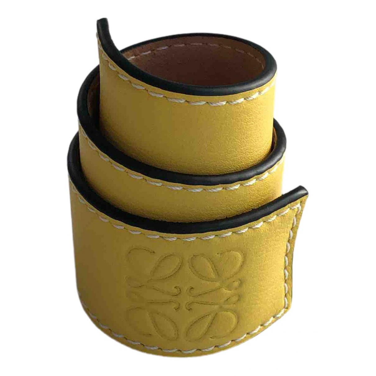 Pulsera de Cuero Loewe