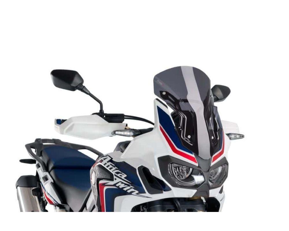Puig 8904F Sport Windscreen - Dark Smoke Honda CRF1000L Africa Twin 2016