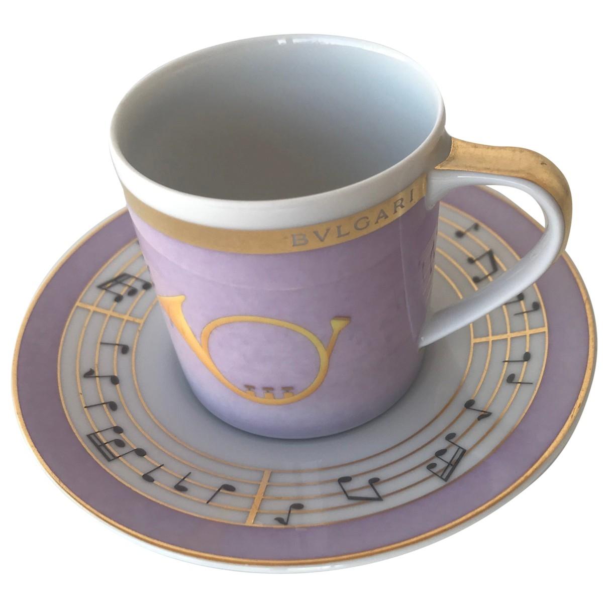 Bvlgari - Arts de la table   pour lifestyle en ceramique - violet