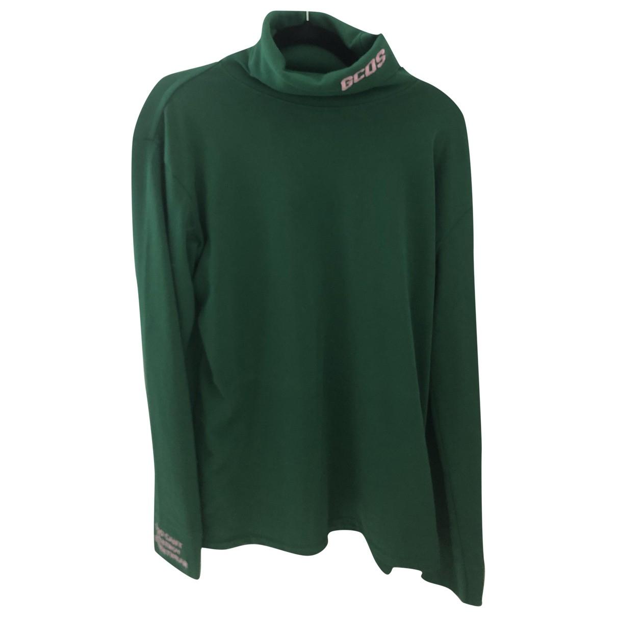 Gcds \N Green Cotton T-shirts for Men M International