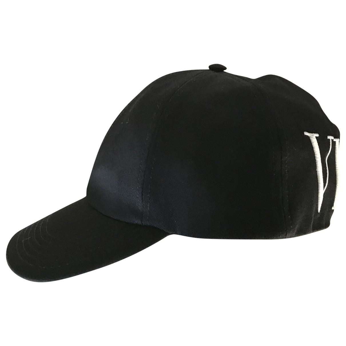 Valentino Garavani - Chapeau & Bonnets   pour homme en laine - noir