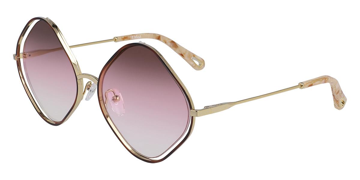 Chloe CE 159S 865 Women's Sunglasses Tortoise Size 57