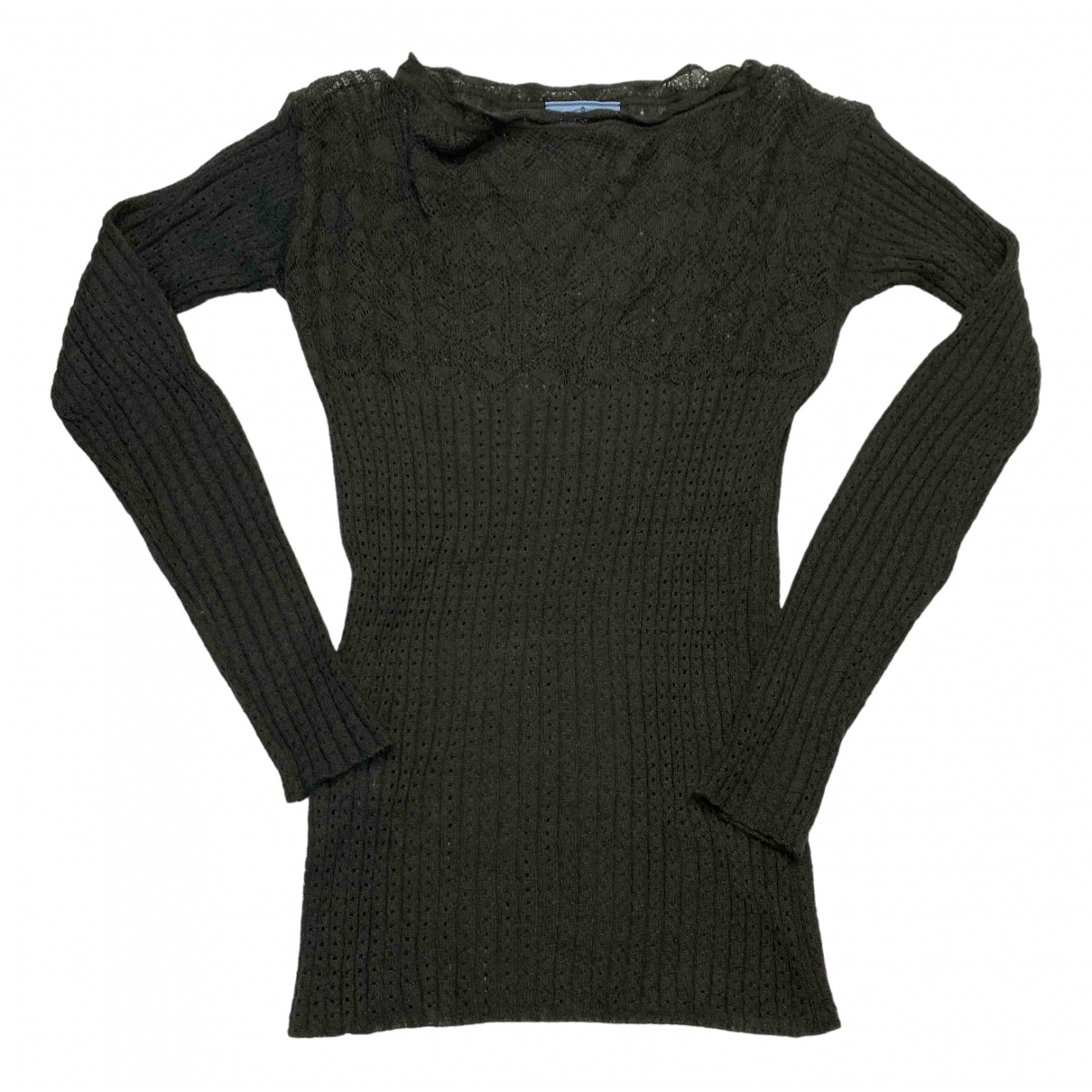 Prada \N Grey Wool Knitwear for Women 40 IT