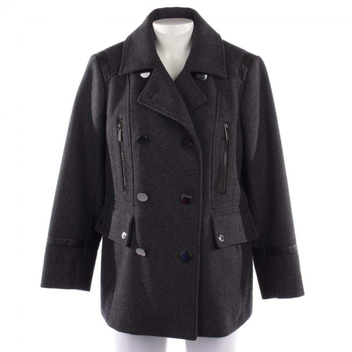 Michael Kors - Manteau   pour femme en laine - gris