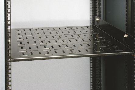 APW S-MAX Fixed Shelf Kit 770mm deep, Black