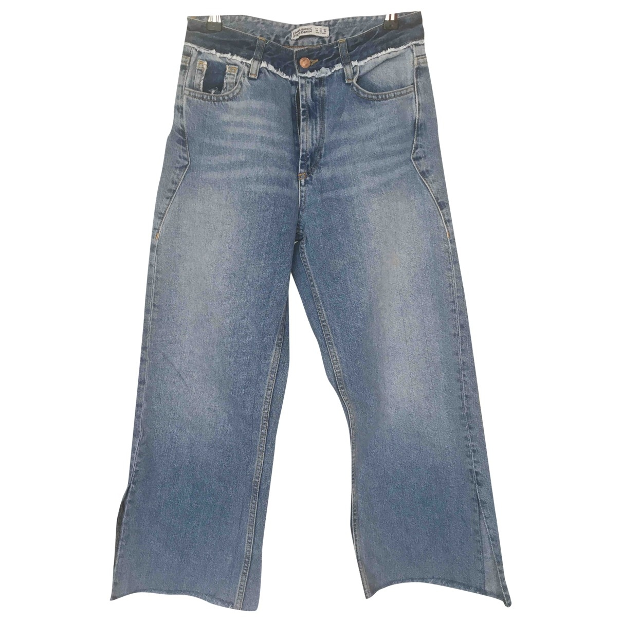Zara \N Blue Denim - Jeans Jeans for Women 36 FR