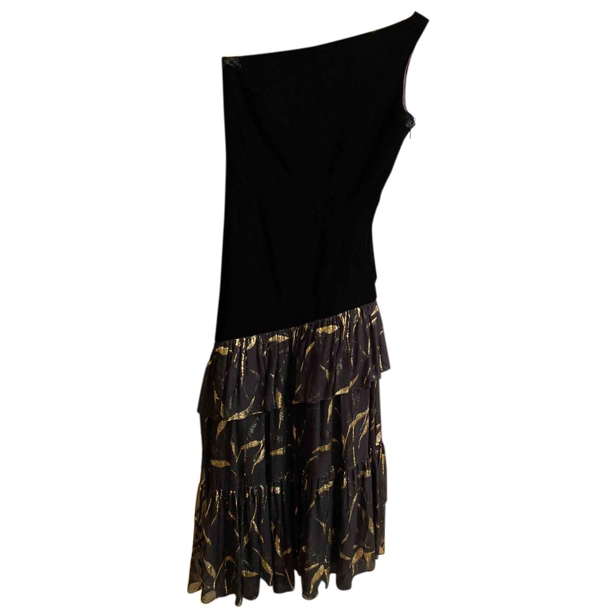 Maxi vestido de Terciopelo Saint Laurent