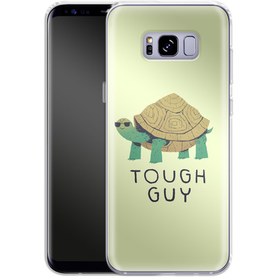 Samsung Galaxy S8 Plus Silikon Handyhuelle - Tough Guy von Louis Ros