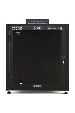Kora Black 3D Printer Enclosure Powder Coated Steel 662 x 662 x 800mm 911078780