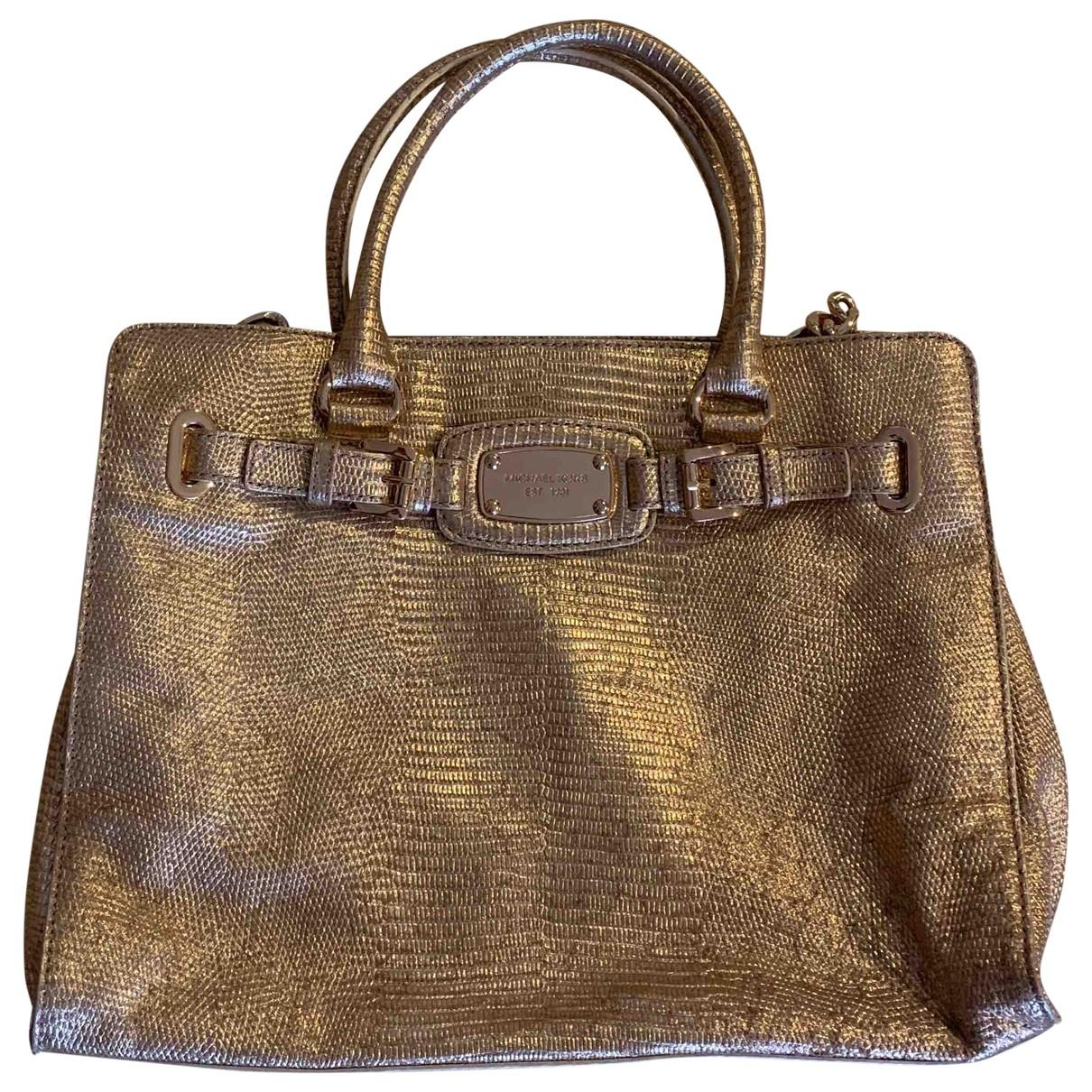 Michael Kors Hamilton Leather handbag for Women \N