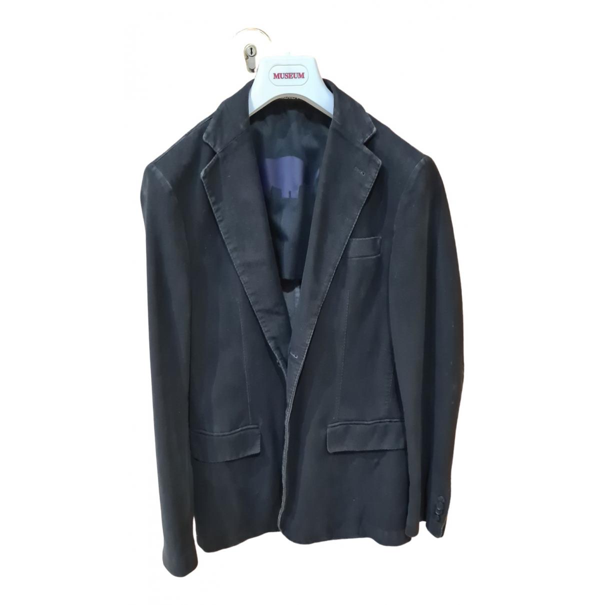 Manuel Ritz N Black Suede jacket  for Men M International
