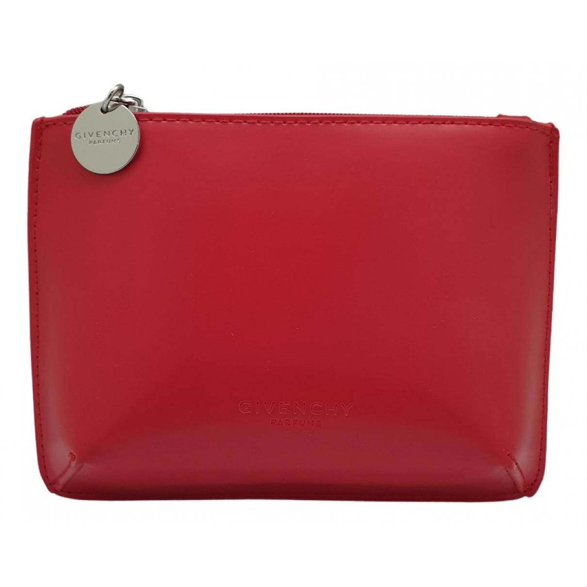 Givenchy - Sac de voyage   pour femme en cuir - rouge