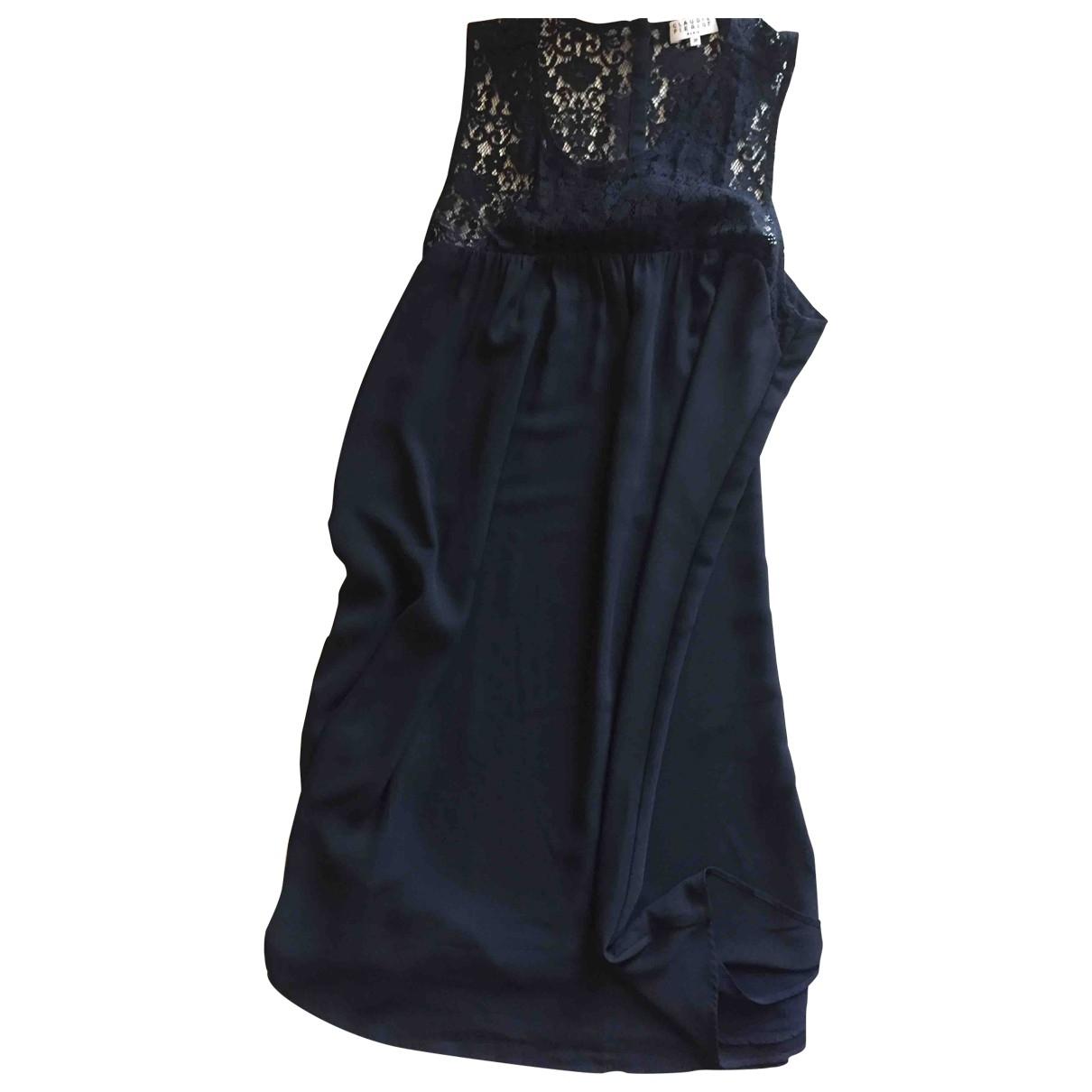 Claudie Pierlot \N Navy dress for Women 38 FR