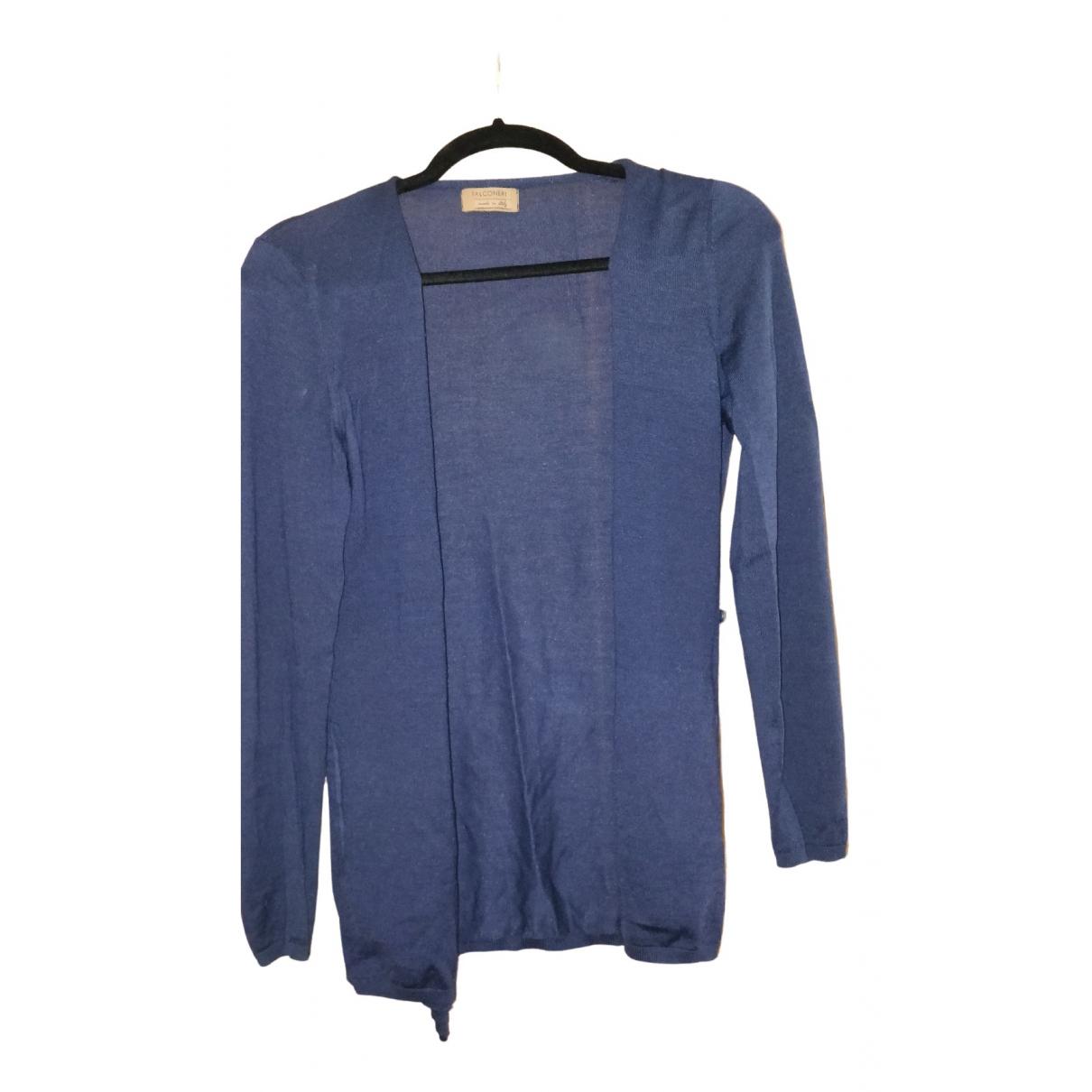 Falconeri N Blue Wool Knitwear for Women M International