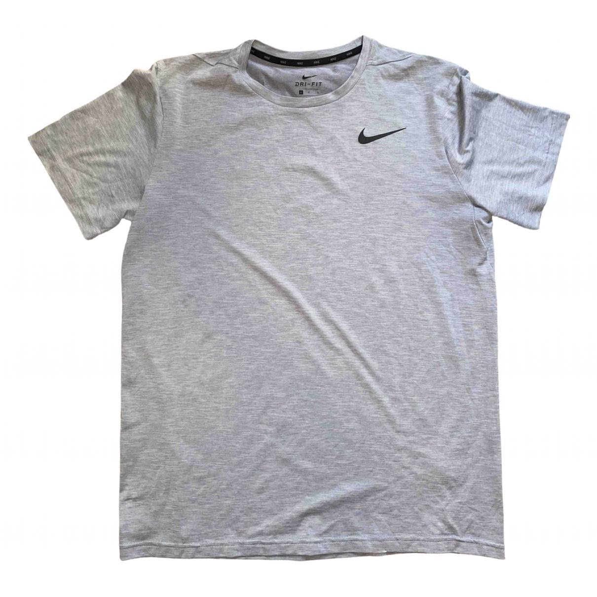 Nike - Tee shirts   pour homme en lycra - gris