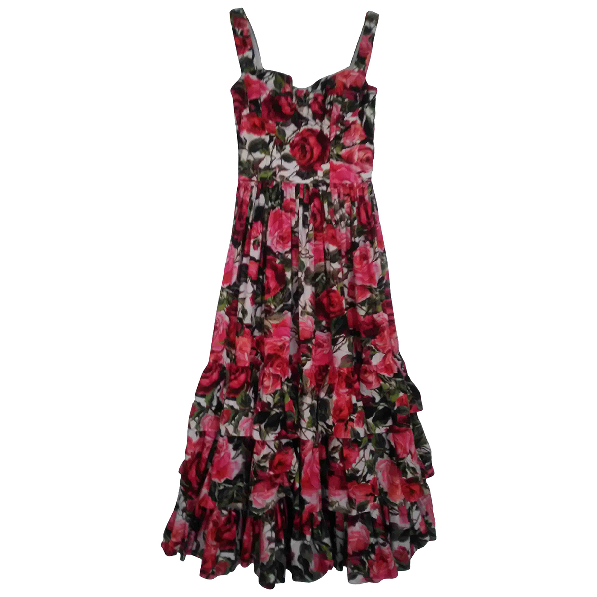 Dolce & Gabbana \N Kleid in  Bunt Baumwolle - Elasthan