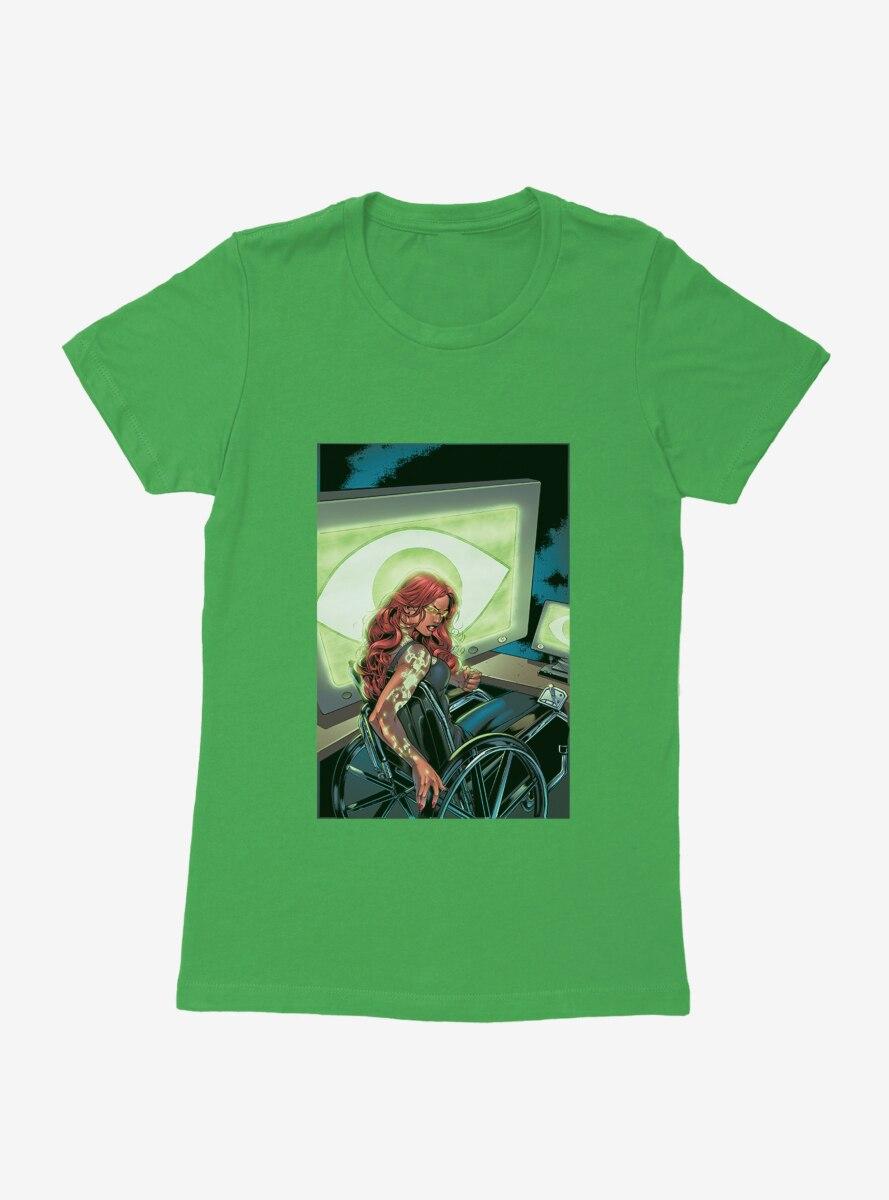 DC Comics Birds Of Prey Barbara Gordon Comic Art Womens T-Shirt