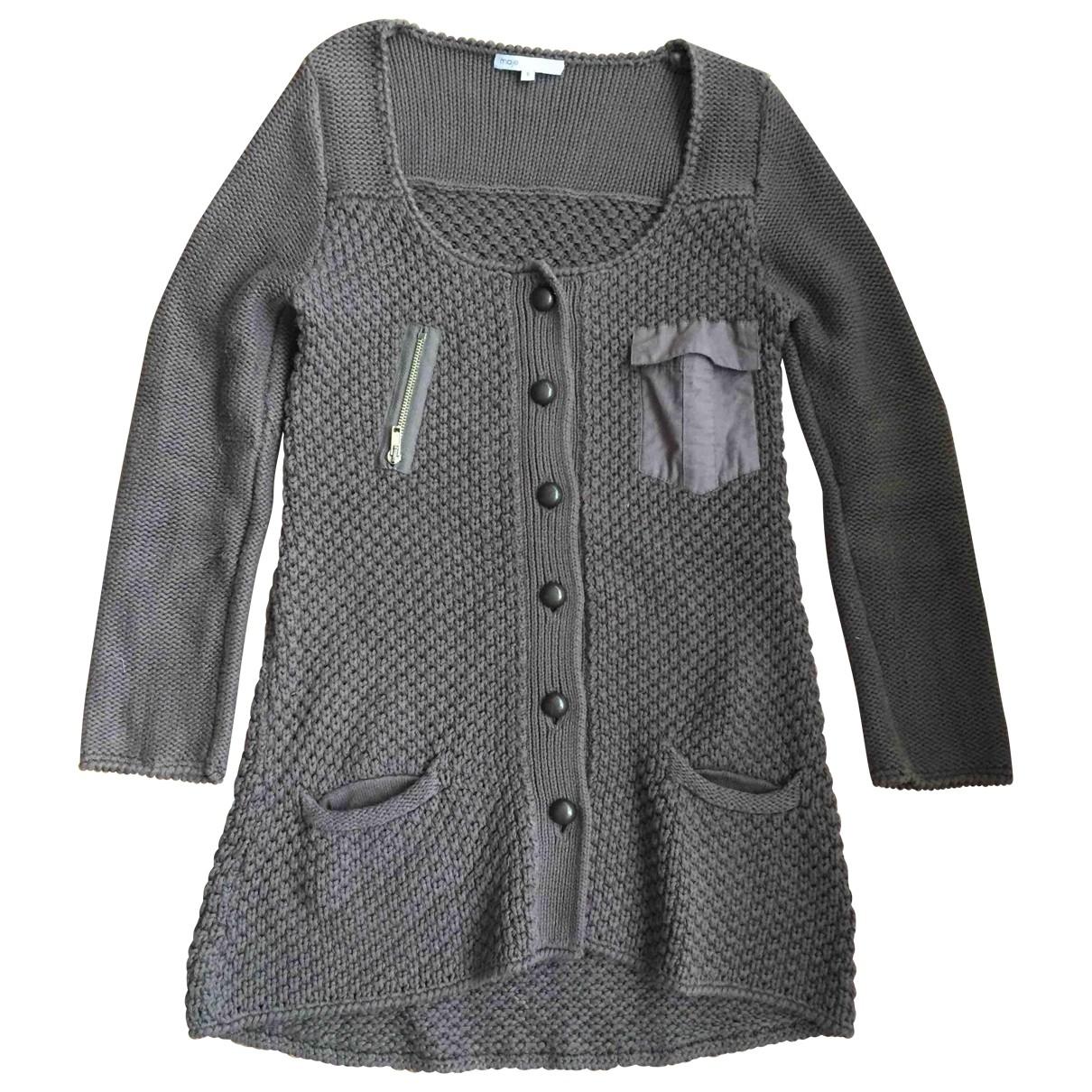 Maje \N Brown Cotton Knitwear for Women S International