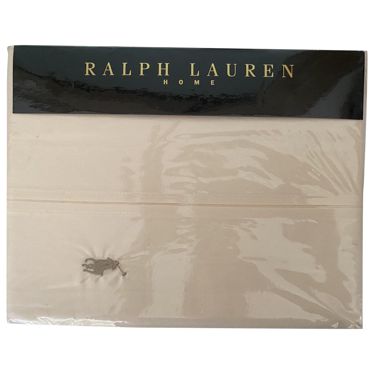 Ralph Lauren \N Heimtextilien in  Beige Baumwolle