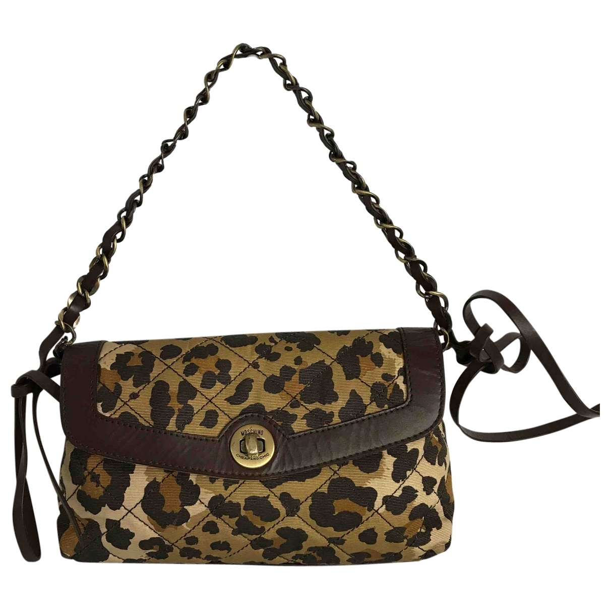 Moschino Cheap And Chic \N Clutch in Synthetik