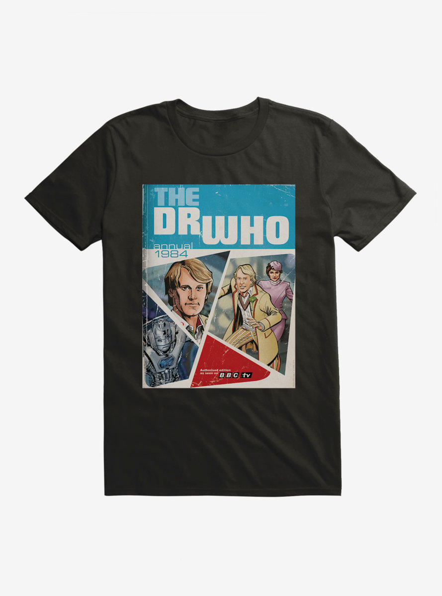 Doctor Who Annual Fifth Doctor T-Shirt