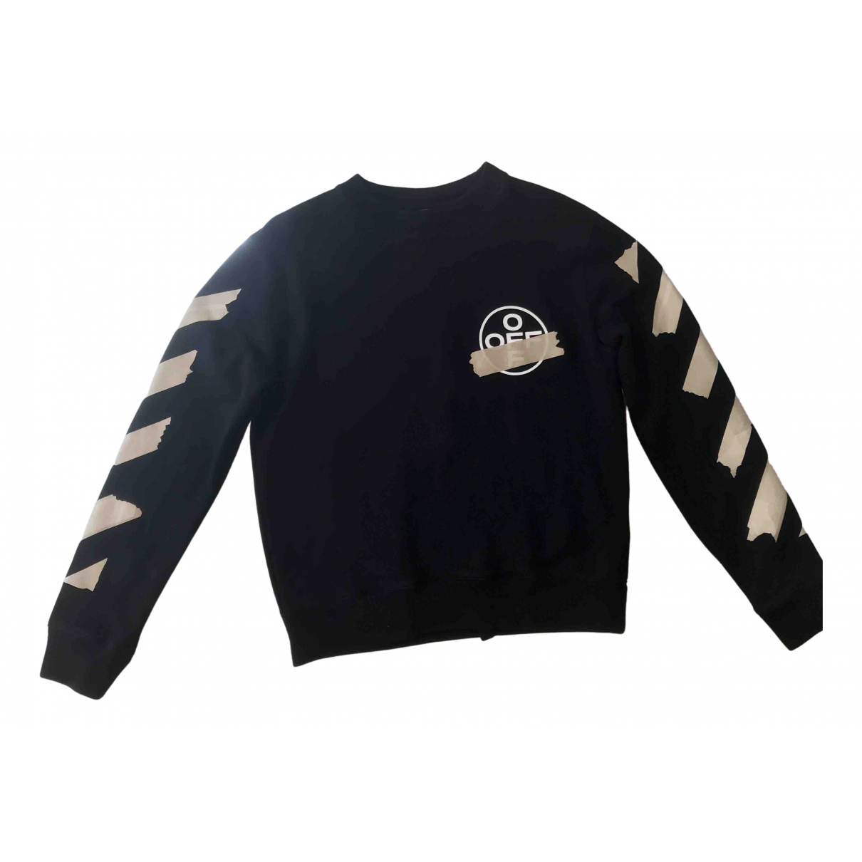 Off-white N Black Cotton Knitwear & Sweatshirts for Men S International