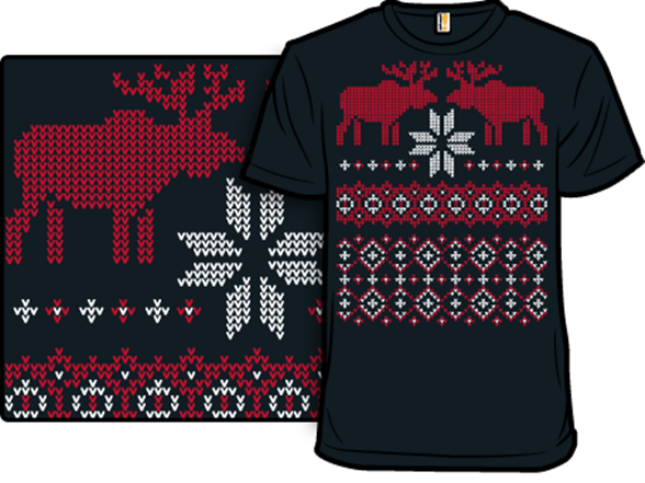 Ugly Holiday Sweater: 2009 T Shirt