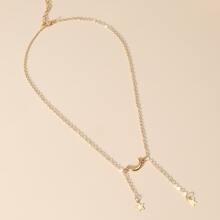 Star Charm Y-lariat Necklace