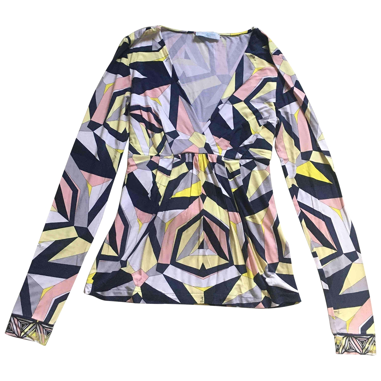 Emilio Pucci - Top   pour femme en coton - multicolore