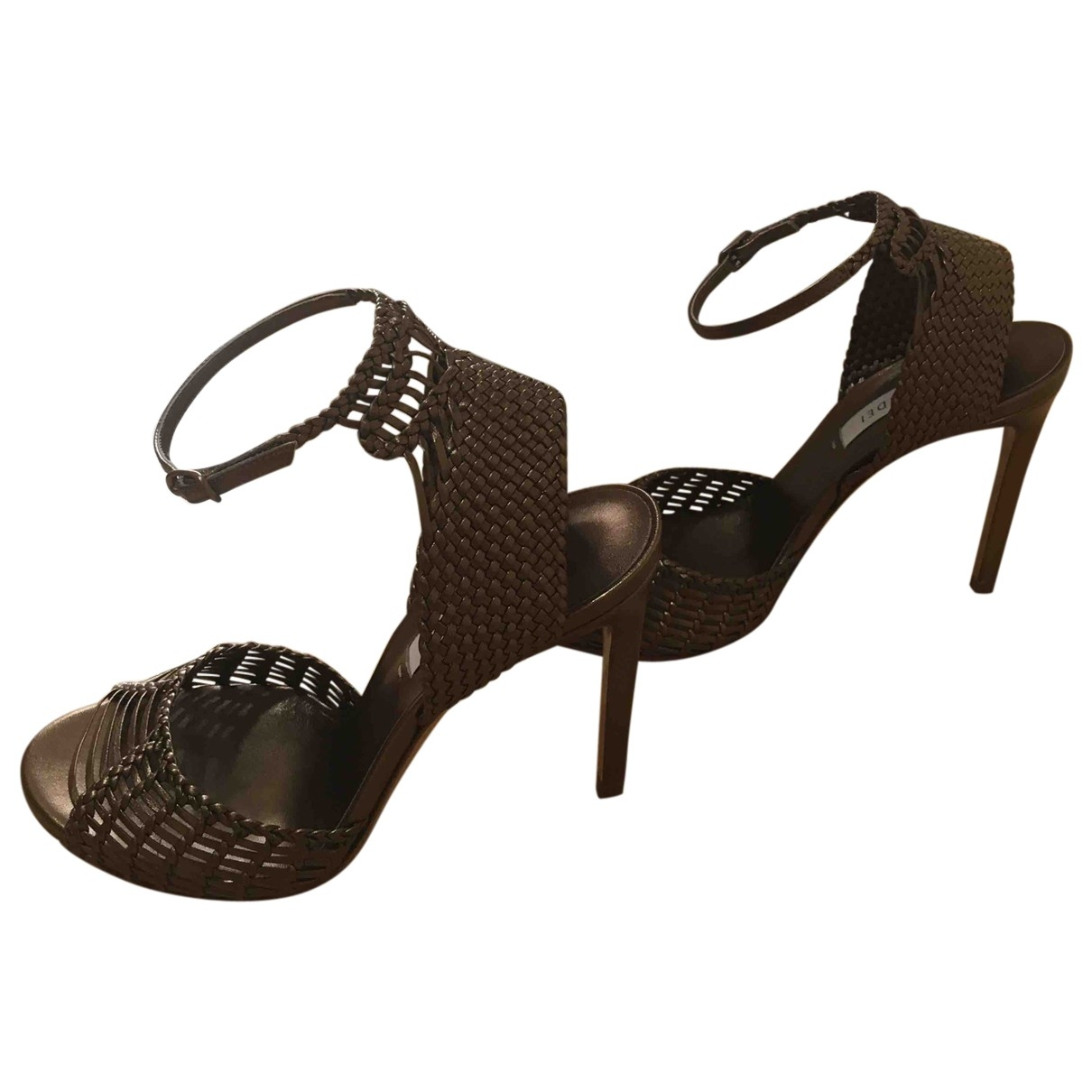 Casadei \N Leather Sandals for Women 36 EU