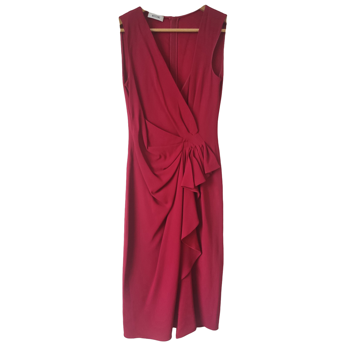 Moschino \N Kleid in  Rot Synthetik