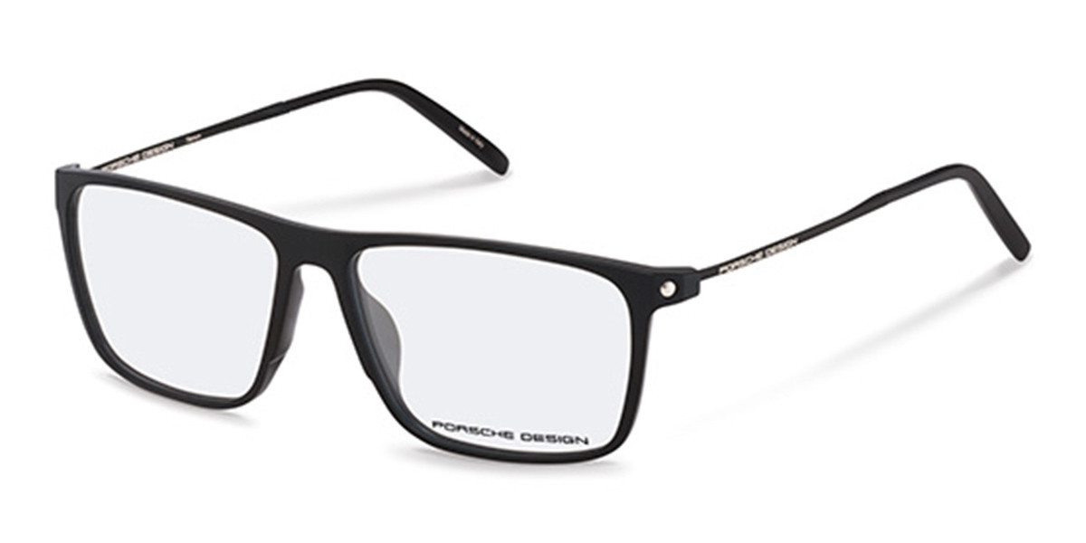 Porsche Design P8334 A Mens Glasses Black Size 56 - Free Lenses - HSA/FSA Insurance - Blue Light Block Available