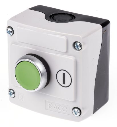 BACO Spring Return Push Button Control Station, IP66