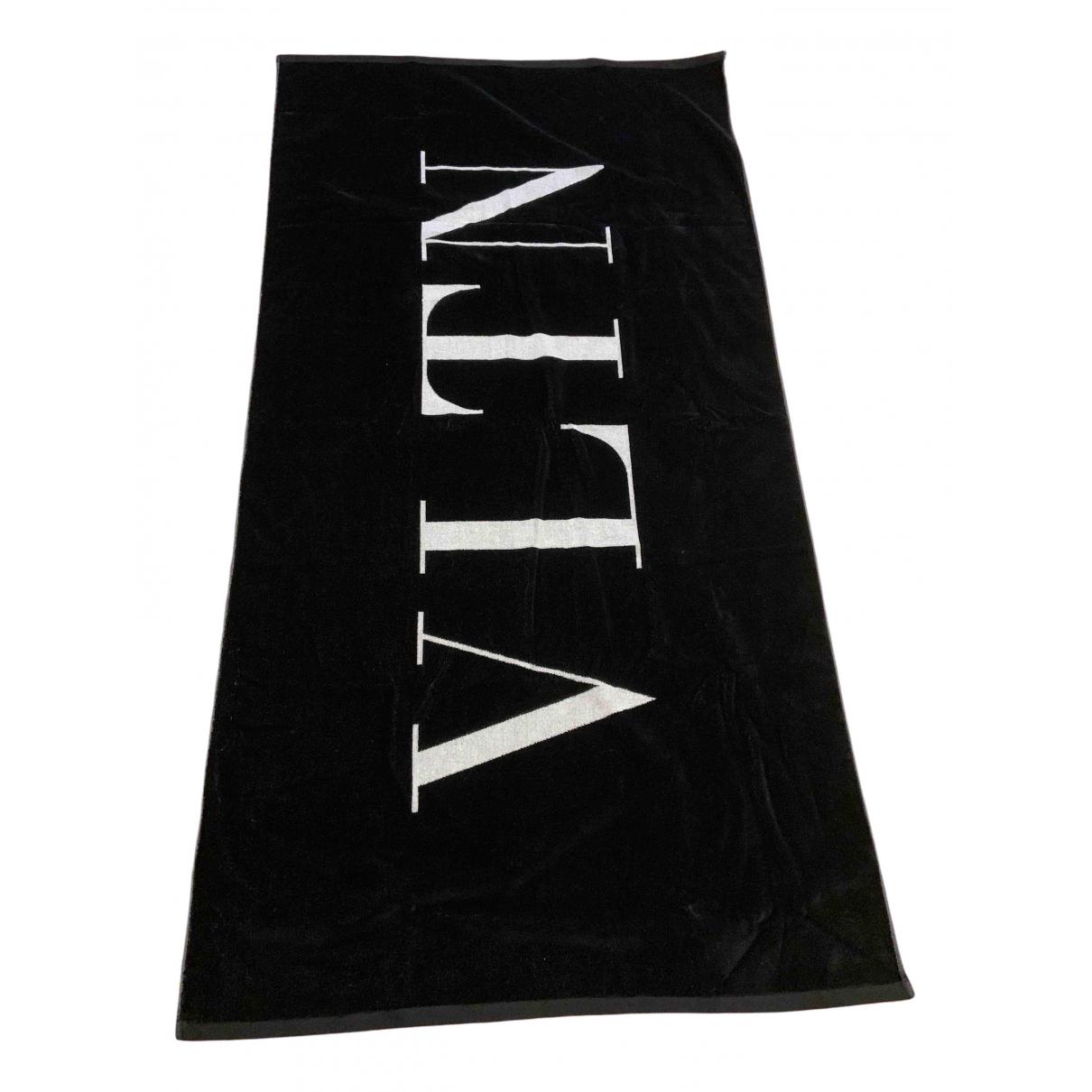 Valentino Garavani - Linge de maison   pour lifestyle en coton - noir