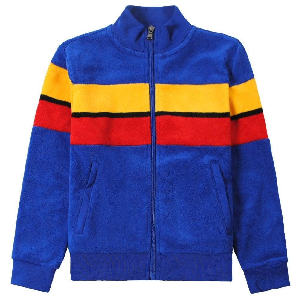 Ralph Lauren Kids Fleece Zip-up Cardigan Size: L (14-16 YEARS), Colour: BLUE