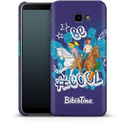 Samsung Galaxy J4 Plus Smartphone Huelle - Bibi und Tina Be Cool von Bibi & Tina