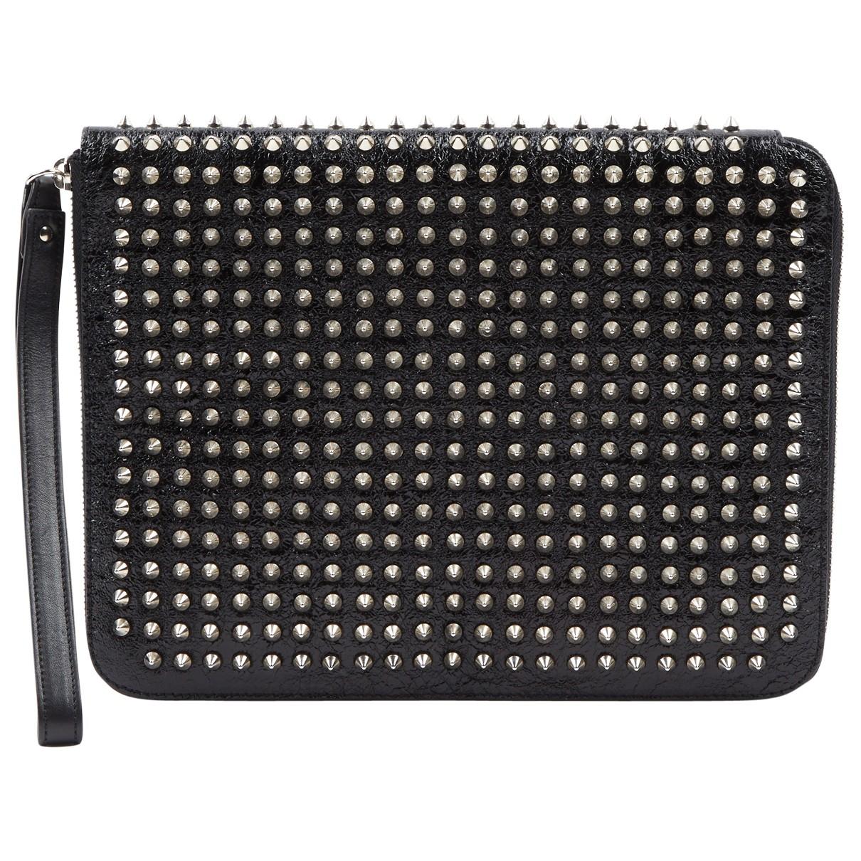 Christian Louboutin N Black Patent leather bag for Men N