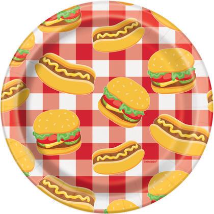 Burger BBQ Round 7