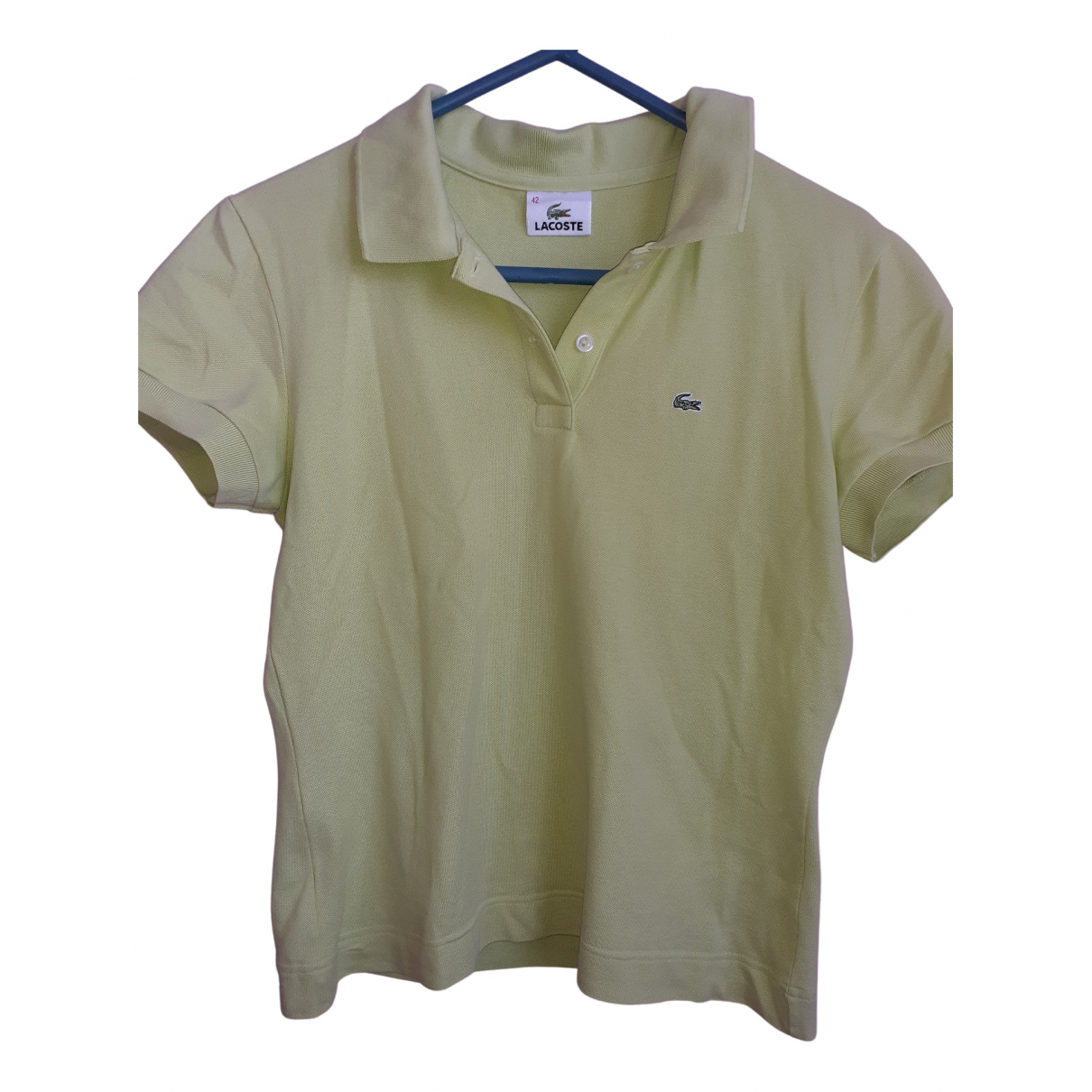 Lacoste \N Green Cotton  top for Women 32 FR