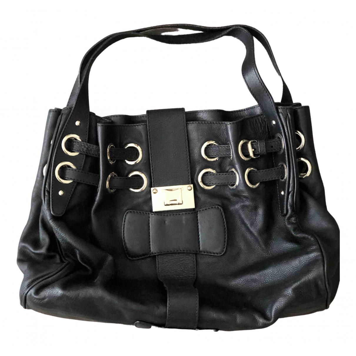 Jimmy Choo \N Black Leather handbag for Women \N