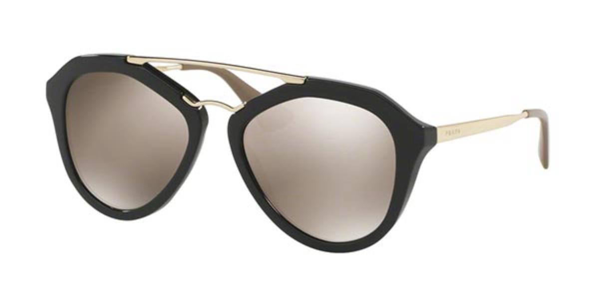 Prada PR12QSA CINEMA Asian Fit 1AB1C0 Women's Sunglasses Black Size 54