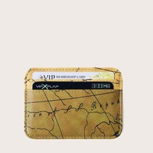 Guys Map Graphic Purse