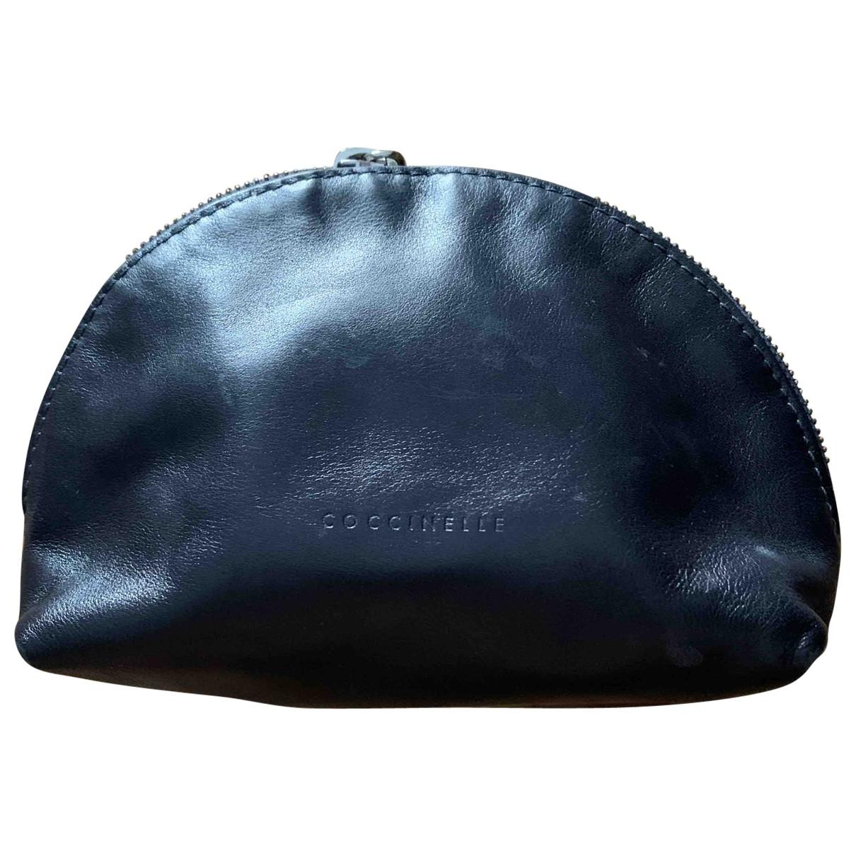 Coccinelle - Petite maroquinerie   pour femme en cuir - bleu
