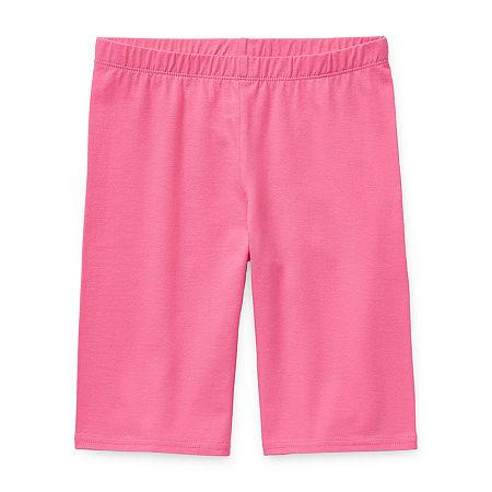 Arizona Little & Big Girls Bike Short, X-large (16) , Pink