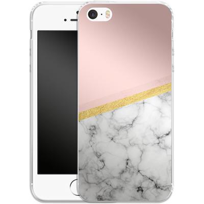 Apple iPhone 5s Silikon Handyhuelle - Marble Slice von caseable Designs