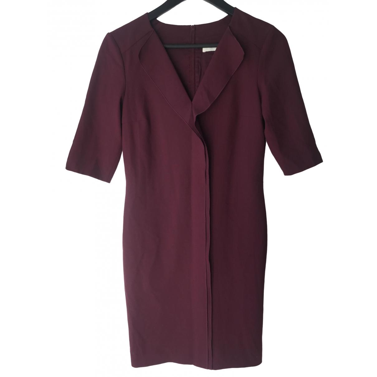 Boss \N Kleid in  Bordeauxrot Polyester