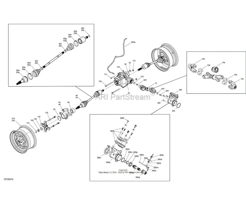 Can-AM OEM Actuator Assembly
